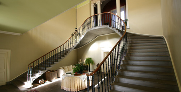 Reception Rooms And Bedrooms At Wedderburn Castle